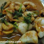 Stir Fry Curried Squid