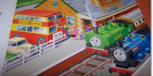 Poor quality control in My Thomas Story Library books