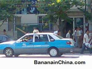 blue-taxi-in-china