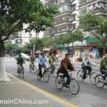 men-in-china-cycling-to-work