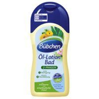 Bubchen bath oil and lotion
