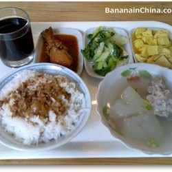 Delicious Chinese take-out food (dàizǒu 带走)