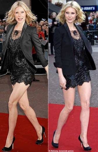 gwyneth-paltrow-lace-dress-killer-heels