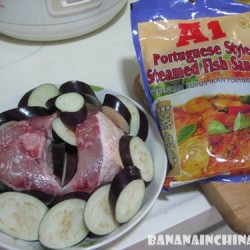 A1 Portuguese style steamed fish sauce