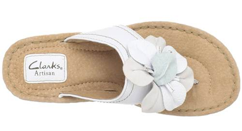 clarks-white-leather-thong-sandal