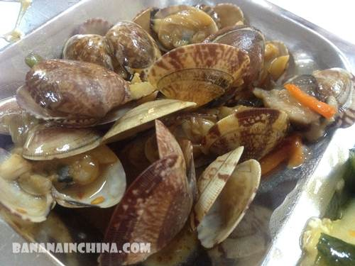 Stir-fried-clams-with-soy-sauce