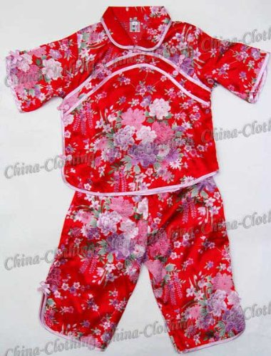 china-shantung-girls-shirt-pants-set